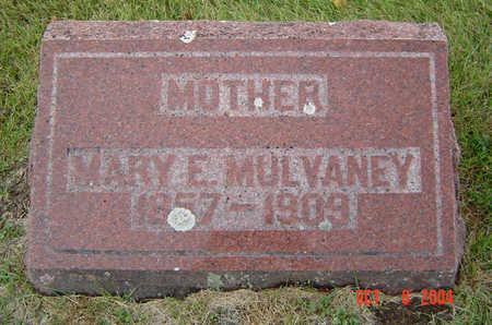 MULVANEY, MARY E. - Delaware County, Iowa   MARY E. MULVANEY