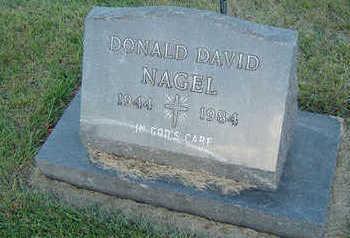 NAGEL, DONALD DAVID - Delaware County, Iowa | DONALD DAVID NAGEL