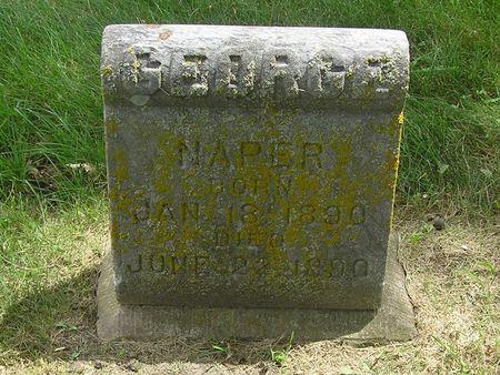 NAPER, GEORGE - Delaware County, Iowa | GEORGE NAPER