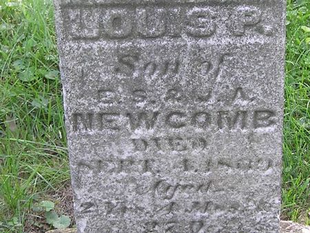 NEWCOMB, LOUIS P. - Delaware County, Iowa | LOUIS P. NEWCOMB