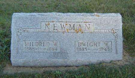 NEWMAN, MILDRED W. - Delaware County, Iowa | MILDRED W. NEWMAN