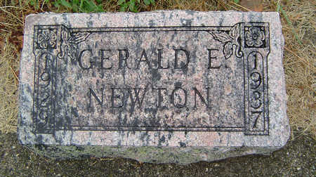 NEWTON, GERALD E. - Delaware County, Iowa | GERALD E. NEWTON