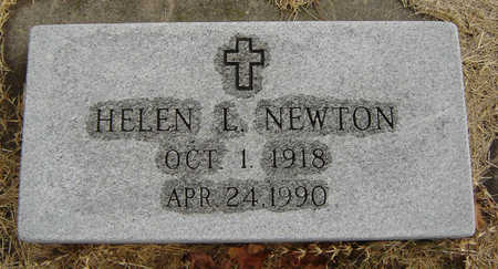 SHINGLEDECKER NEWTON, HELEN L. - Delaware County, Iowa | HELEN L. SHINGLEDECKER NEWTON