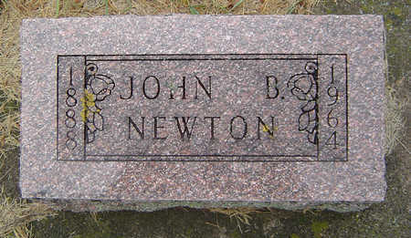 NEWTON, JOHN BENJAMIN - Delaware County, Iowa   JOHN BENJAMIN NEWTON