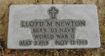 NEWTON, LLOYD M. - Delaware County, Iowa | LLOYD M. NEWTON