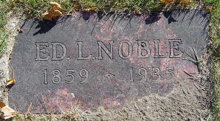 NOBLE, ED L. - Delaware County, Iowa   ED L. NOBLE
