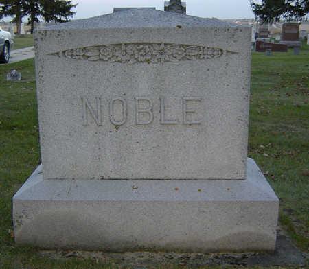 NOBLE, FAMILY STONE - Delaware County, Iowa | FAMILY STONE NOBLE