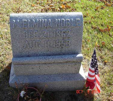 NOBLE, M. ELMINA - Delaware County, Iowa   M. ELMINA NOBLE