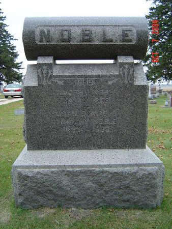 NOBLE, SUSAN D. - Delaware County, Iowa | SUSAN D. NOBLE