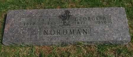 NORDMAN, ETTA J. - Delaware County, Iowa | ETTA J. NORDMAN