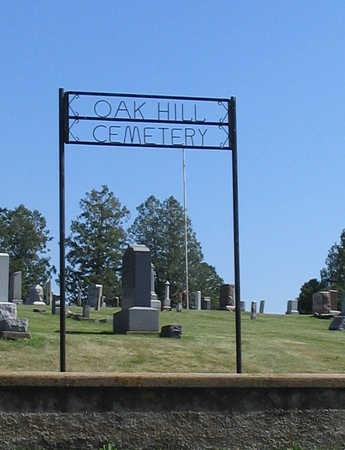 OAK HILL, CEMETERY - Delaware County, Iowa | CEMETERY OAK HILL