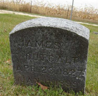 OUTCALT, JAMES - Delaware County, Iowa   JAMES OUTCALT