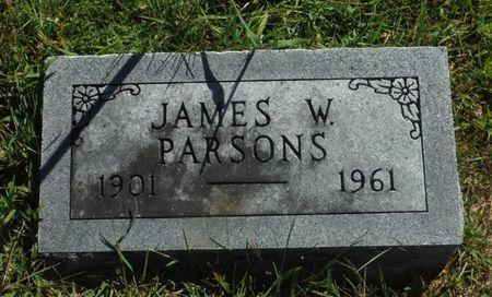 PARSONS, JAMES W. - Delaware County, Iowa | JAMES W. PARSONS