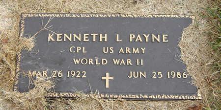 PAYNE, KENNETH L. - Delaware County, Iowa | KENNETH L. PAYNE
