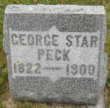 PECK, GEORGE STAR - Delaware County, Iowa | GEORGE STAR PECK