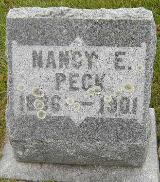 PECK, NANCY E. - Delaware County, Iowa   NANCY E. PECK