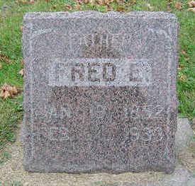 PEET, FRED E. - Delaware County, Iowa | FRED E. PEET