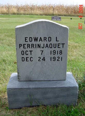 PERRINJAQUET, EDWARD L. - Delaware County, Iowa | EDWARD L. PERRINJAQUET