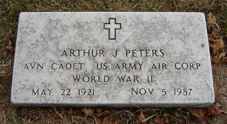 PETERS, ARTHUR J. - Delaware County, Iowa | ARTHUR J. PETERS
