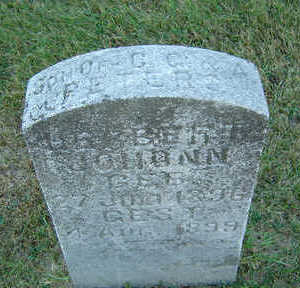 PETERS, HERBERT JOHONN - Delaware County, Iowa   HERBERT JOHONN PETERS
