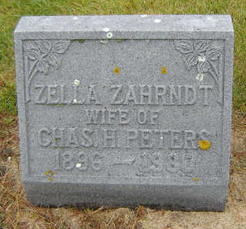 PETERS, ZELLA - Delaware County, Iowa | ZELLA PETERS