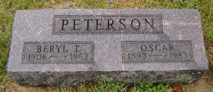 PETERSON, OSCAR - Delaware County, Iowa | OSCAR PETERSON