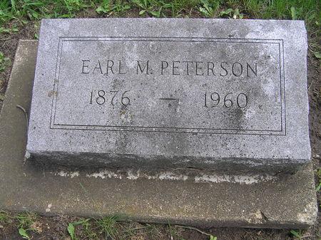 PETERSON, EARL M. - Delaware County, Iowa | EARL M. PETERSON