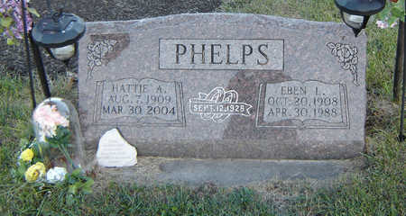 JONES PHELPS, HATTIE A. - Delaware County, Iowa | HATTIE A. JONES PHELPS