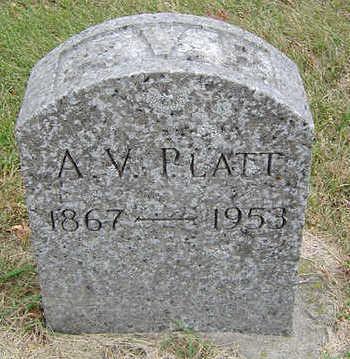 PLATT, A. V. - Delaware County, Iowa | A. V. PLATT