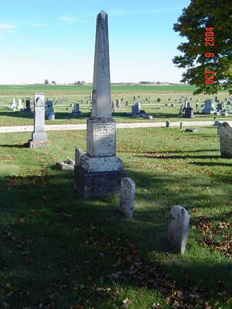 PLATT, FAMILY STONE - Delaware County, Iowa | FAMILY STONE PLATT