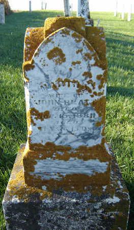 GETTIS PLATT, MARTHA - Delaware County, Iowa | MARTHA GETTIS PLATT