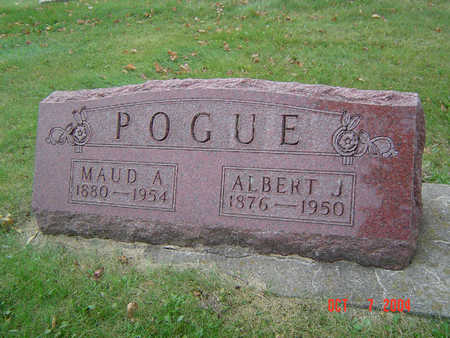 POGUE, MAUDE A. - Delaware County, Iowa | MAUDE A. POGUE