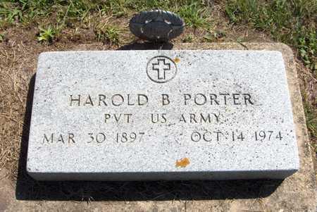 PORTER, HAROLD B. - Delaware County, Iowa   HAROLD B. PORTER