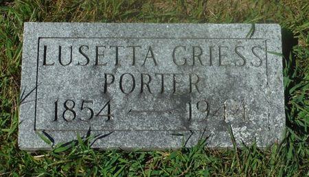 PORTER, LUESTTA - Delaware County, Iowa | LUESTTA PORTER
