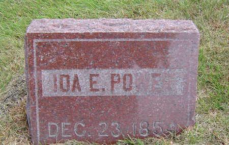 POWER, IDA - Delaware County, Iowa | IDA POWER