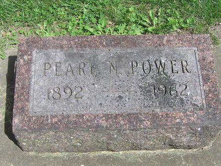 POWER, PEARL N. - Delaware County, Iowa | PEARL N. POWER