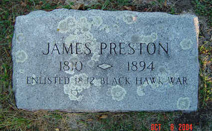 PRESTON, JAMES - Delaware County, Iowa | JAMES PRESTON