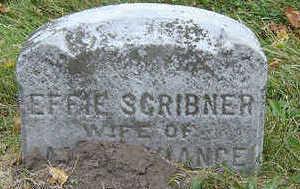SCRIBNER PURVIANCE, EFFIE - Delaware County, Iowa | EFFIE SCRIBNER PURVIANCE
