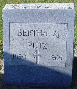 PUTZ, BERTHA A. - Delaware County, Iowa | BERTHA A. PUTZ