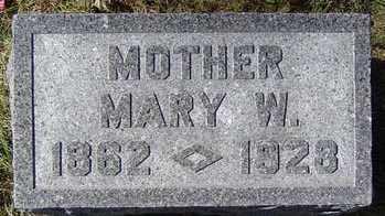 PUTZ, MARY W. - Delaware County, Iowa | MARY W. PUTZ