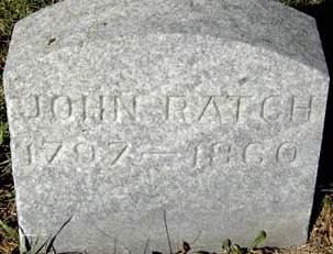 RATCH, JOHN - Delaware County, Iowa | JOHN RATCH