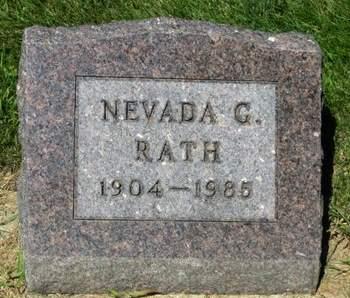 G RATH, NEVADA - Delaware County, Iowa | NEVADA G RATH