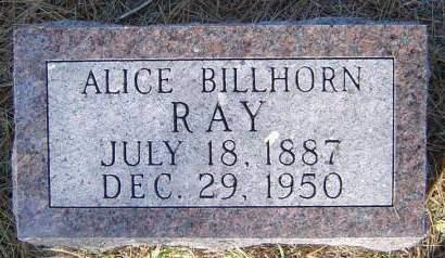 RAY, ALICE - Delaware County, Iowa | ALICE RAY