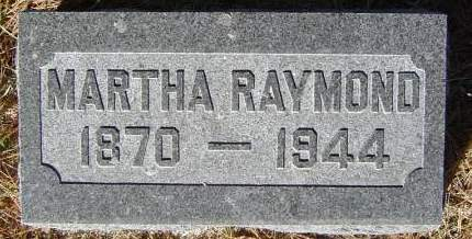 RAYMOND, MARTHA - Delaware County, Iowa | MARTHA RAYMOND