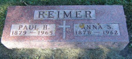 REIMER, ANNA S. - Delaware County, Iowa | ANNA S. REIMER