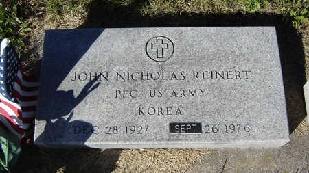 REINERT, JOHN NICHOLAS - Delaware County, Iowa | JOHN NICHOLAS REINERT