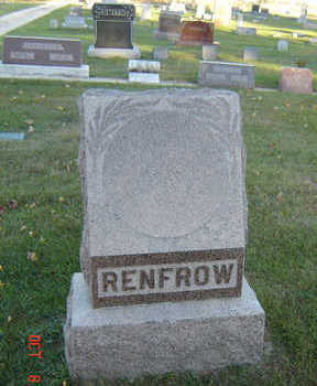 RENFROW, FAMILY STONE - Delaware County, Iowa | FAMILY STONE RENFROW