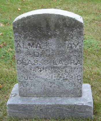 RHINES, ALMA MAY - Delaware County, Iowa   ALMA MAY RHINES