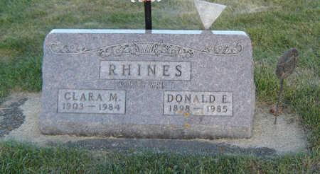 RHINES, CLARA M. - Delaware County, Iowa | CLARA M. RHINES
