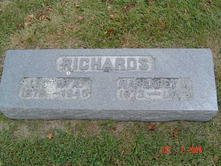 FISHER RICHARDS, MARGARET M. - Delaware County, Iowa | MARGARET M. FISHER RICHARDS